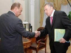 Анекдоты о Жириновском и Путине