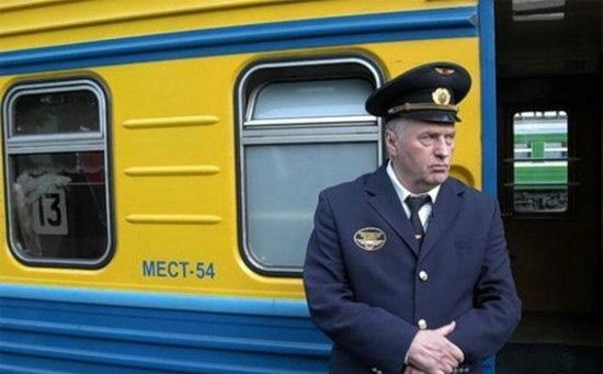 Жириновский - проводник