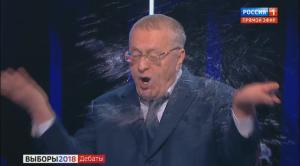 Жириновский нецензурно обозвал Собчак на дебатах у Соловьева